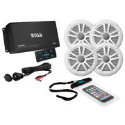 Ask904b.64 Boss Audio Ask904b.64 4-channel Bluetooth Amplifier With 4 Speakers