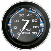 33005 Faria 4 Tachometer 7000 Rpm All Outboard Coral W/stainless Steel B...