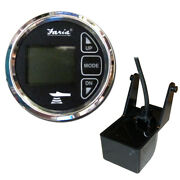 13752 Faria 2 Dual Depth Sounder W/air Andamp Water Temp Transom Mount Transd...