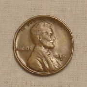 1931 S Lincoln Cent Nearly Bu Brown ....... Lot 8219