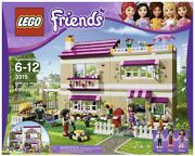 Lego Friends Set 3315 Olivia's House 695 Pieces Retired