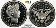 1904 Barber Quarter Pcgs Proof 64 Cam Cac - Great Look Coin - Rrrn