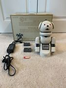 Sony Entertainment Robot Aibo Ers-311 Latte Barely-used