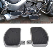 2pack Left+right Floorboards Foot Boards Pedal Universal For Motorcycle Relax