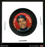 1956 Topps Pins Phil Rizzuto Yankees 4 - Vg/ex
