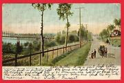1906 Postcard Knoxville Tennessee Kingston Pike
