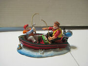 Dept. 56 Snow Village The Catch Of The Day 56.54956 Original Package