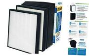 Premium 2 Hepa Replacement Filter Pack With 6 Activated Carbon Pre Filters To