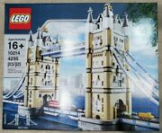 Retired Lego Creator Tower Bridge 10214 - 2010 Discontinued, Never Opened