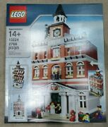 Retired Lego Creator Town Hall 10224 - 2012 Discontinued, Never Opened