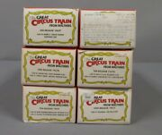Walthers Ho Scale Great Circus Train Freight Cars And Kits [6]/box