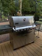 Weber Summit S-670 6-burner Gas Grill Stainless Steel Natural Gas Msrp 2999
