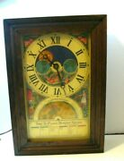 Vintage 1975 Burpee Seeds Centennial Time To Plant Electric Advertising Clock
