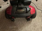 Pride Mobility Go-go Elite Traveller 3-wheel Mobility Scooter - Red