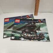 Lego 4184 Instruction Manual Only Booklet Pirates Of The Caribbean Black Pearl
