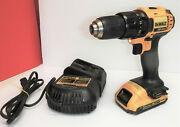 Dewalt Dcd780 20v Max Cordless Compact 1/2 Drill/drill Driver W/battery Charger