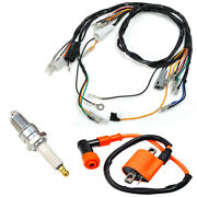Ignition Coil Spark Plug Cdi Wiring Harness For Yamaha Blaster Yfs200 1997-2001