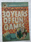 1988 Frischs Comic Book No 370 Big Boy 30 Years Of Fun And Games 88a