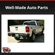 Fab Fours Fits Steel Ranch Rear Bumper For 2008-2010 Gmc/chevrolet -