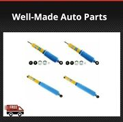 Bilstein For Bronco/f-150/f-350 Front/rear Monotube Shock Absorbers Set Of 4