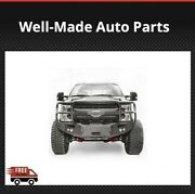 Fab Fours Winch Full Guard Bumpers For 17-18 Ford F-250/350 Sd Premium