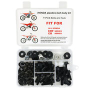 Plastic Fender Seat Shrouds Bolts Aftermarket Fit For Honda Cr60 Cr80 Cr85 Cr125