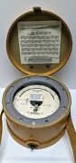 Wallace And Tiernan Pennwalt Pressure Aneroid Barometer Fa185300 Leather Case Nos