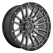 20 Inch Gray Wheels Rims Lifted Ford F250 F350 Fuel D680 D68020001747 20x10