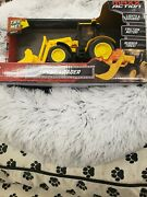 Maxx Action Front End Loader Construction Series Toy Lights Sounds Rev Motor