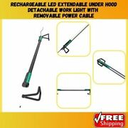 Under Hood Work Light Rechargeable With Removable Power Cable Led Extendable