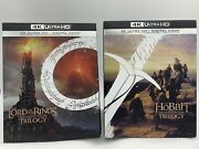 Lord Of The Rings+the Hobbit Ultra Hdextended Editionsno Digital
