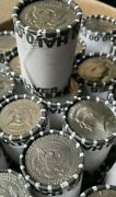 Bank Sealed Rolls Kennedy Half Dollars Unsearched Poss.40and90 Silver 20 Coins