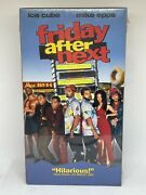Friday After Next Vhs Sealed First Print Igs Ready Hard To Find Ice Cube Htf