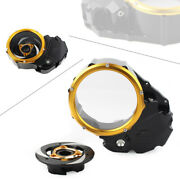 Clear Clutch Cover Protector Guard For Ducati X-diavel 2019-20 Motor Yellow