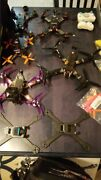 Huge Drone Collection With Parts Cases And Working Racing Drones New And Used