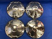Rare Vintage Set Of 4 1976 Toyota Dog Dish Hubcaps Corona 2 May Fit Others