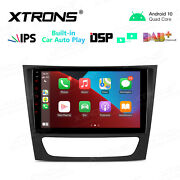 9 Android 10 2+32gb Car Stereo Gps Radio For Mercedes-benz W211 E200 E240 W219