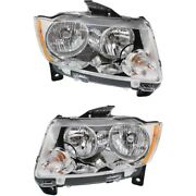 Headlight Lamp Left-and-right Ch2502224c, Ch2503224c 55079378af, 55079379af