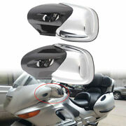 Usa Motorcycle Left Right Chrome Abs Rearview Side Mirror For Bmw K1200 Lt 99-08