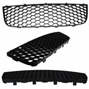 Front Bumper Lower Center Grille Cover Fit For Vw Jetta Gti Golf 5 Bora 04-09