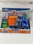 Blippi Talking Recycling Truck Garbage Recycle Vehicle New Release Figure 00