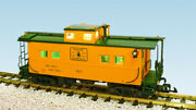 Usa Trains R12164 G Maine Central Center Cupola Caboose Harvest Gold/green