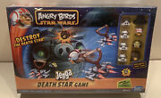 Angry Birds Star Wars Jenga Death Star Game By Hasbro. New - Factory Sealed.