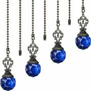 Ceiling Fan Pull Chains Crystal Ball Extension Fan Pull Chain Pendant 12 Inch V…
