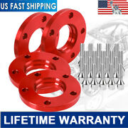Hubcentric 5x120 Staggered Wheel Spacer 215mmand220mm W/extended Bolts For Bmw