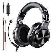 Oneodio A71 Pc Headsets With Boom Mic - Office Over Ear Wired Headphones For ...