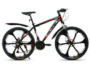 New Trending 26 Inch Steel Frame Mtb 21 Speed Bicycle Double Disc Mountain Bike