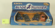 Blade Runner 4 Cars 164 Scale Die Cast Replicas Deckards Car And Others 1982 Ertl