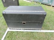 Vintage 1920and039s 1930and039s Luggage Trunk For Restoration - Big Car - Pre War
