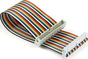 Uctronics Male To Female Gpio Ribbon Cable 40pin 8inch Breadboard Jumper Wires